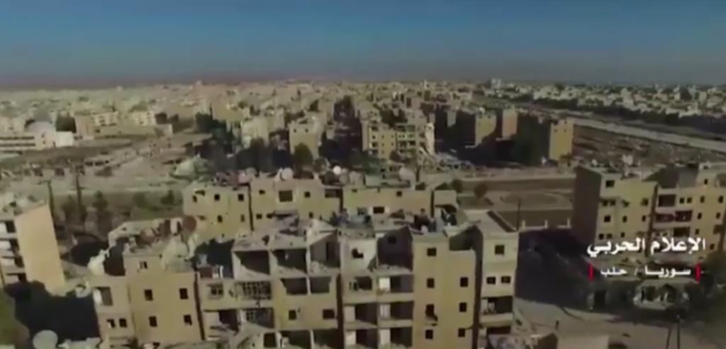 Image issue d'une vidéo de l'armé Syrienne